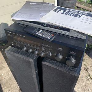 Yamaha Stereo And Polk Audio Loudspeakers for Sale in San Bruno, CA