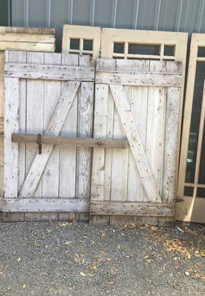 Vintage barn doors for Sale in Tacoma, WA