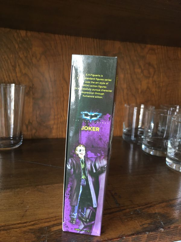 6'' Joker Action Figure Toy The Dark Knight DC Hero Collectible New