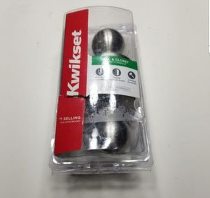 Kwikset Polo Satin Nickel Hall/Closet Door Knob, New, PRICE IS NOT NEGOTIABLE. for Sale in Palatine, IL