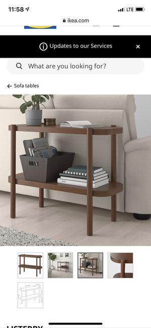 Console table (ikea listerby) for Sale in Boston, MA