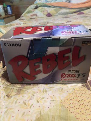 CANON EOS REBEL T5 for Sale in Frostproof, FL