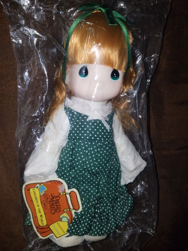 PRECIOUS MOMENTS CHILDREN OF THE WORLD IRELAND COLLECTIBLE DOLL