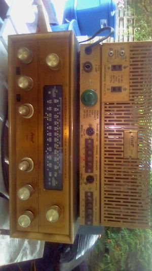 Very rare hard to get pilot gold series one of the first top of the line stereo receivers and amplifiers excellent condition no dents or scratchesl for Sale in Stockton, CA
