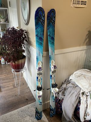 K2 5feet 1inch Ski's with Bindings set for the 23.5 size Soloman boots. for Sale in Bangor, ME