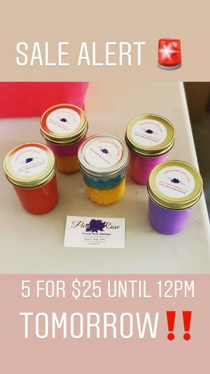 5 for $25 Sale - Handmade Candles for Sale in Mount Rainier, MD