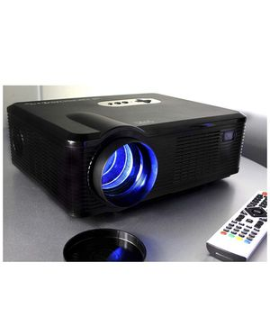 GAOAG Portable Video Projector + 20% Brightness Multimedia Home Theater Movies HDMI VGA AV USB MicroSD TV, Laptops, Party, Game Android Smartphones for Sale in PA, US