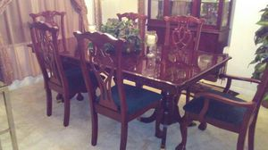 Formal Cherry Wood Dining Set for Sale in Fontana, CA