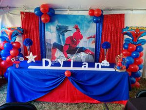 Spiderman Party Decoration for Sale in Leesburg, VA