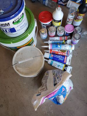 Mortar, cement patches, calk, grout lot for Sale in Trinity, FL