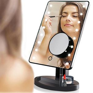22 LED Light Portable Ajustable Vanity Lighted Makeup Mirror 10X Magnification for Sale in Riverside, CA