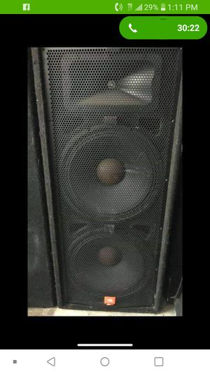 Dj jbl speakers for Sale in Pompano Beach, FL
