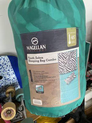 Magellan Zebra Sleeping Bag for Sale in Houston, TX