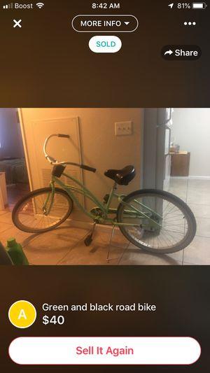 Green bike for Sale in Chico, CA