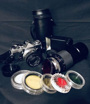 Olympus OM-1 35mm with Extras for Sale in Greeneville, TN