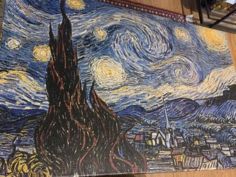 Van Gogh's The Starry Night X-large Canvas Wall Art (40 in x 26 in) for Sale in Washington,  DC