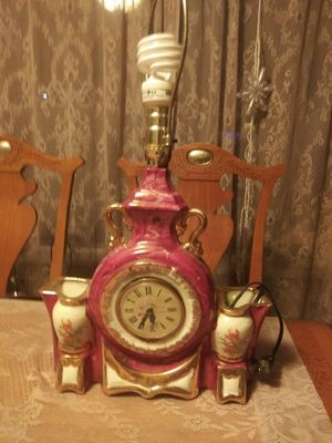 Antique lamp and Clock Works for Sale in Arvada, CO