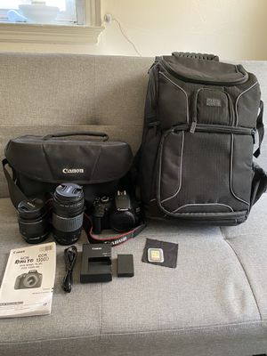 Canon EOS Rebel T6 Bundle for Sale in Bloomsburg, PA