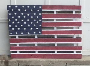 Painted Pallet American Flag for Sale in Alexandria, VA