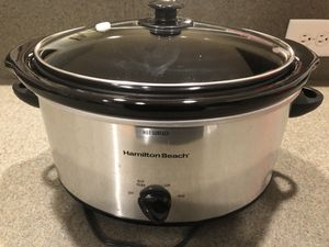 Hamilton Beach 5-quart Slow Cooked - PERFECT CONDITION for Sale in Nashville, TN