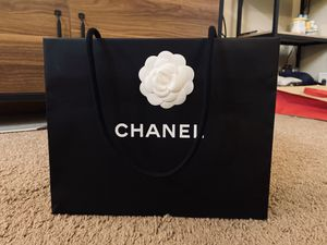 Large Chanel paper bag for Sale in Pullman, WA