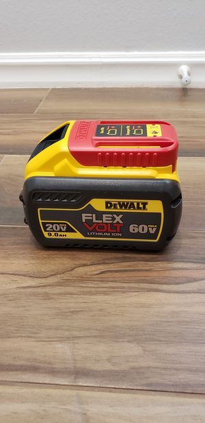 Dewalt flexvolt 9.0ah battery for Sale in San Diego, CA