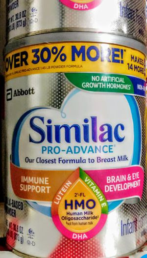 Similac pro advance/30.8oz for Sale in Los Angeles, CA