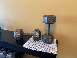 Dumbbell 35 lbs for Sale in Austell, GA
