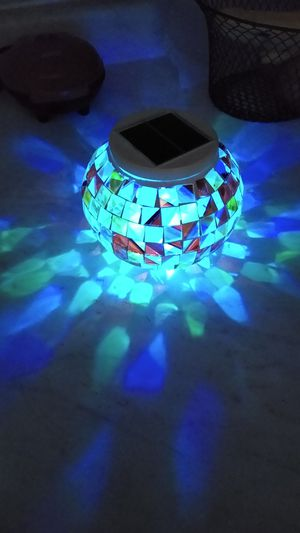 Solar color changing night lamp for Sale in Park City, IL