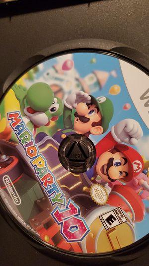 Nintendo Wii u Mario party 10 for Sale in Miramar, FL
