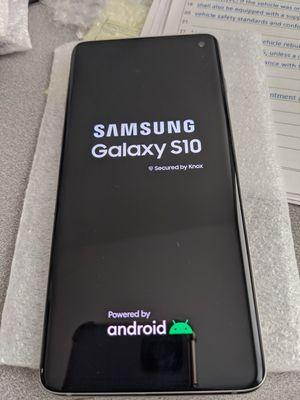 White sim unlocked Samsung galaxy s10 128gb for Sale in Elk Grove, CA