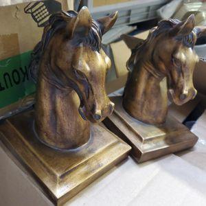 Vintage Horse Head Bookends for Sale in Phoenix, AZ