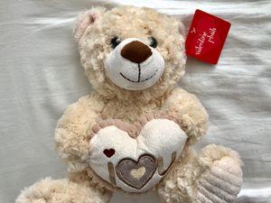 Plush Teddy Bear ( I love you) for Sale in Millcreek, UT