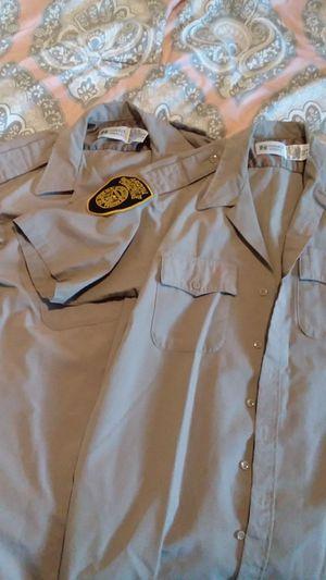 2 ADOC uniform shirts for Sale in Springerville, AZ