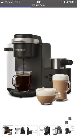 Keurig K Cafe Coffee and Espresso Maker for Sale in Huntington Beach, CA