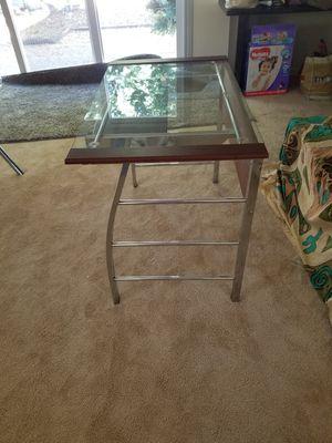 Computer desk mint condition asking price for 60$ .4Bar stool also mint condition asking price 80 $ xposted for Sale in Pleasanton, CA