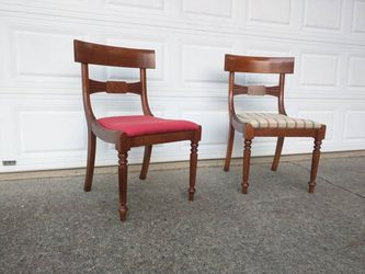 Pair chairs by Milling Road - A Division Of Baker Furniture (High End)  for Sale in Duluth, GA