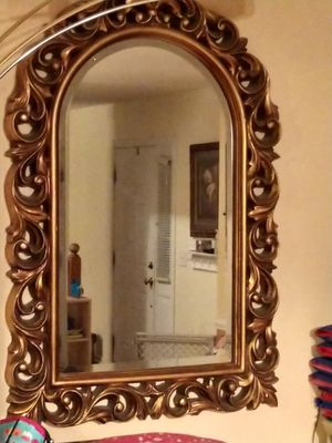 Beautiful antique scroll mirrors for Sale in Columbia, SC