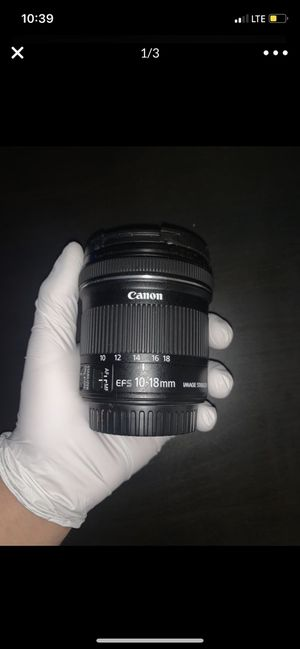 Canon Wide Angle Lens for Sale in Los Angeles, CA