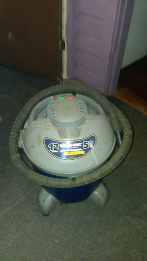 12gallon wet dry vacuum for Sale in Lakeland, FL