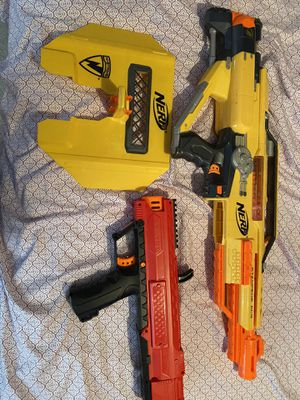 Nerf Guns lot price negotiable for Sale in Germantown, MD