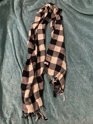 Joe Boxer B&W Checkered Smiley Face Scarf for Sale in Ithaca, NY