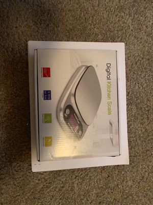 Digital kitchen scale, 4 units can be choose, fit for global people for Sale in Orlando, FL