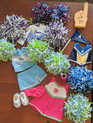 American Girl doll cheerleading lot for Sale in Levittown, PA