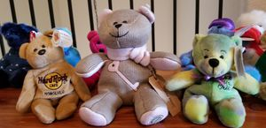 12 Bear Ty Collection & 1 Starbucks Bear for Sale in Spring, TX