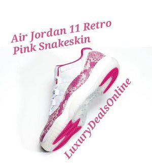 WMNS Jordan 11 Retro Low Pink Snakeskin for Sale in San Antonio, TX