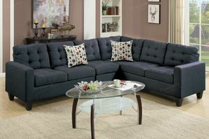 Black Sofa sectional couch for Sale in Downey, CA