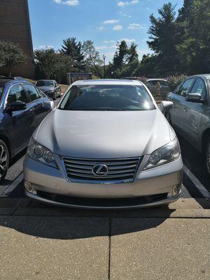 2012 Lexus ES 350 Silver for Sale in Alexandria, VA