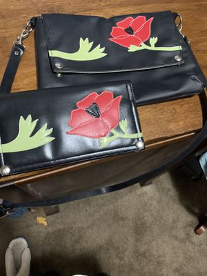 Genuine Queen Bee purse and wallet. for Sale in Portland, OR