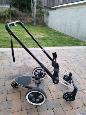 Like NEW Cybex Platinum Priam Baby Stroller Frame All Terrain Wheels Smooth Ride for Sale in Torrance, CA